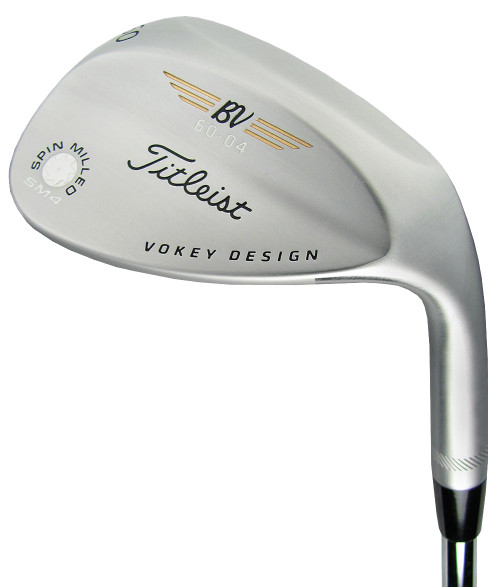 Pre-Owned Titleist Golf Vokey SM4 Tour Chrome Wedge (Left Hand)