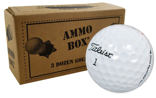 Titleist Golf NXT Tour /Tour S Practice Mint Golf Balls *36-Ball Ammo Box*