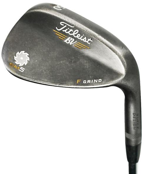 Pre-Owned Titleist Golf  Vokey SM5 Raw Black Wedge