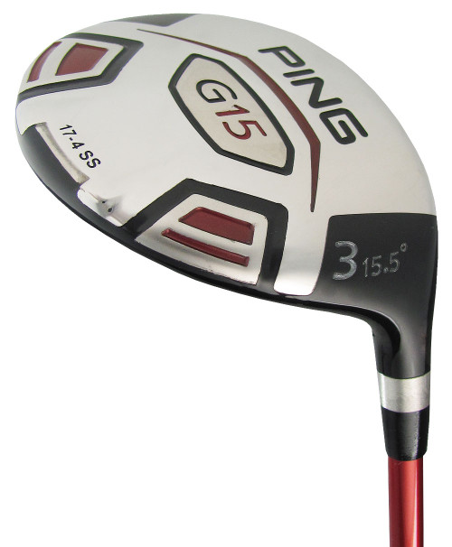 Pre-Owned Ping Golf G15 Fairway Wood (Left Handed)