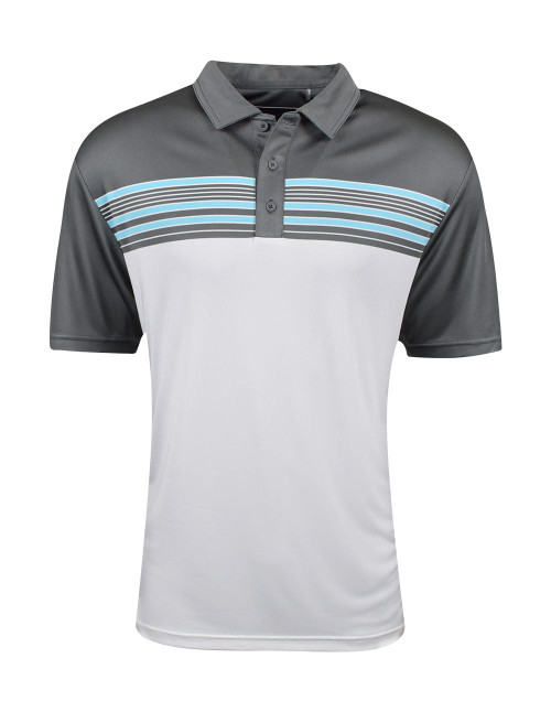Etonic Golf- Engineered Chest Stripe Polo