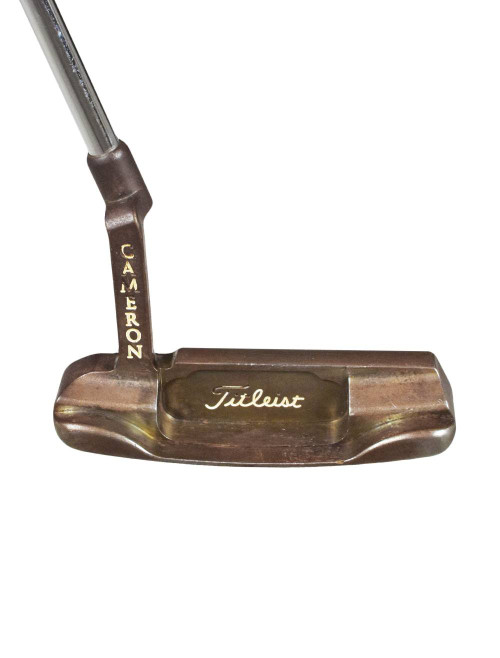 Pre-Owned Titleist Golf Cameron Oil Can Newport Putter