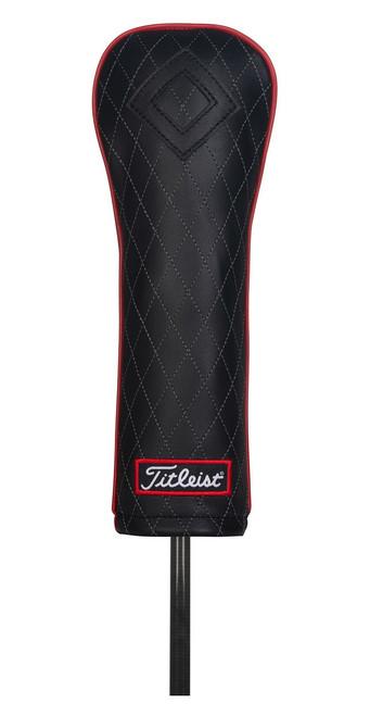 Titleist Golf- Jet Black Leather Fairway Headcover