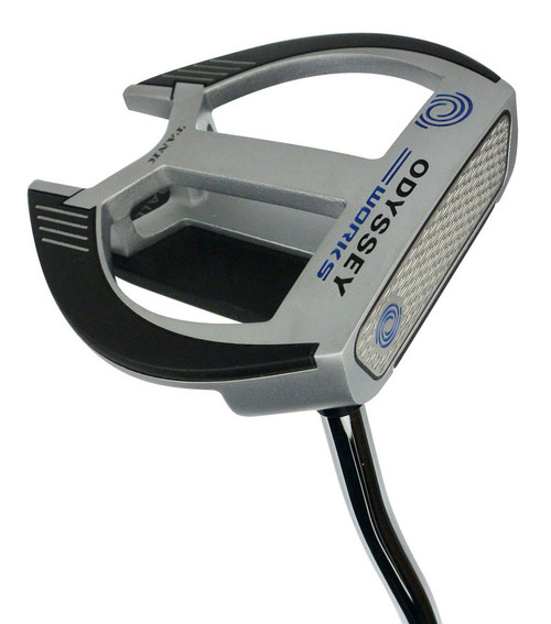 Pre-Owned Odyssey Golf Works Tank Versa 2-Ball Fang Putter