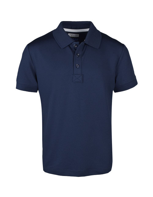 Callaway Golf- Youth Microhex Solid Polo