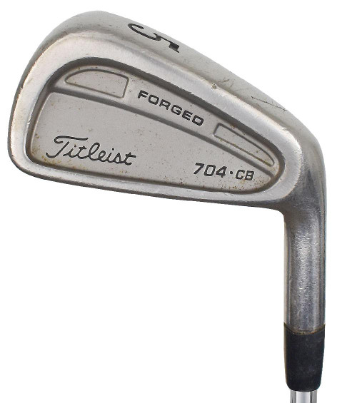 Pre-Owned Titleist Golf 704.CB Irons (7 Iron Set)