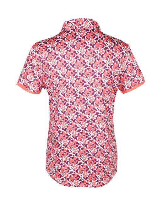 Etonic Golf- Ladies Printed Short Sleeve Polo