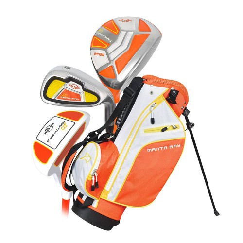 Ray Cook Golf- LH Manta Ray 5 Piece Junior Set With Bag Ages 3-5 (Left Handed)