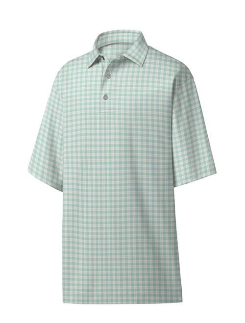 FootJoy Golf- Previous Season Style Lisle Plaid Polo