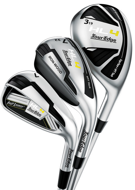 Pre-Owned Tour Edge Golf Hot Launch HL4 Triple Combo Irons (7 Club Set) (Left Handed)