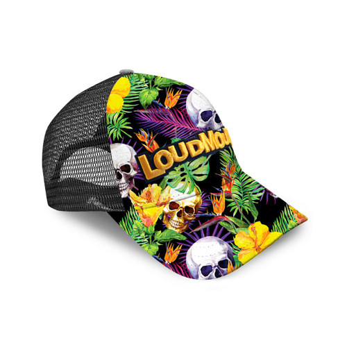 Loudmouth Golf- Skull Grotto Trucker Ca