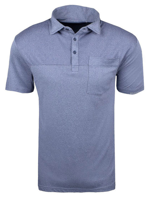Etonic Golf- Water Base Chest Stripe Pocket Polo