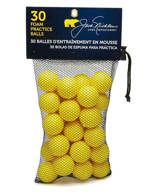 Jack Nicklaus Golf- JN Foam Practice Balls (30 Pack)