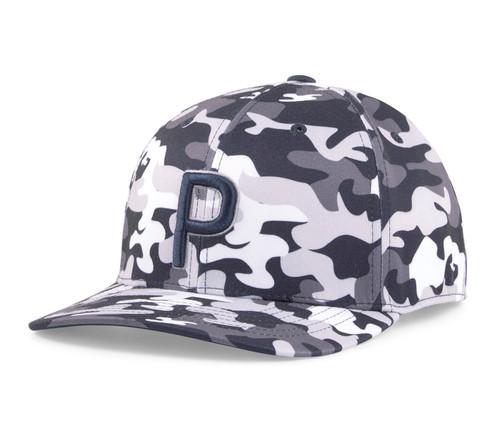 Puma Golf- Camo Pattern P 110 Snapback Cap