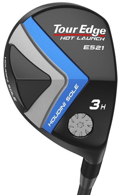 Tour Edge Golf- Ladies Hot Launch E521 Offset Hybrid
