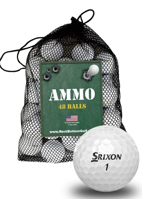Srixon Z Star Mix Fair Recycled Used Golf Balls [48-Ball]