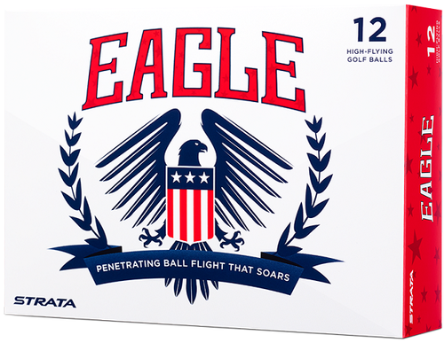 Strata Eagle Golf Balls