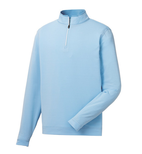 FootJoy Golf Lightweight Striped Quarter-Zip Pullover
