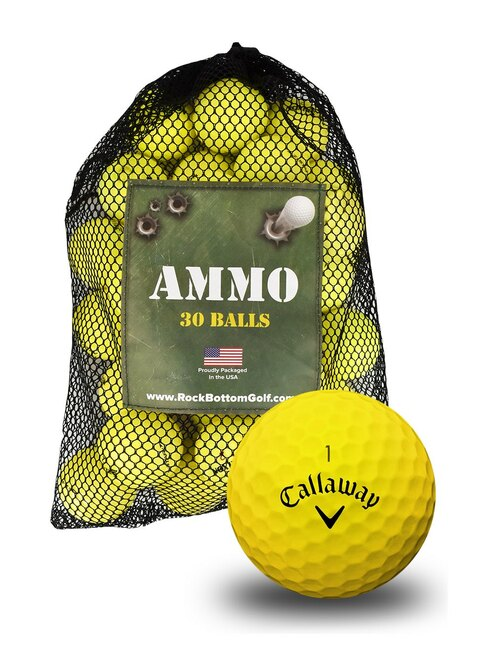 Callaway Chrome Soft Fair Recycled Used Golf Balls [36-Ball]