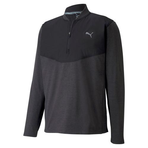 Puma Golf- Cloudspun Stlth 1/4 Zip Pullover