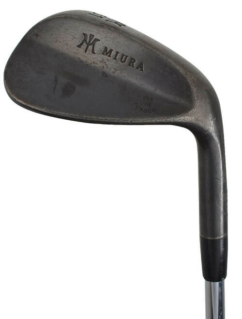 Pre-Owned Miura Golf Forged Black Wedge
