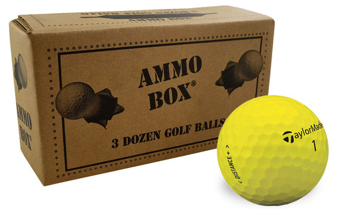 TaylorMade TM Distance+ Golf Balls [36-Ball]