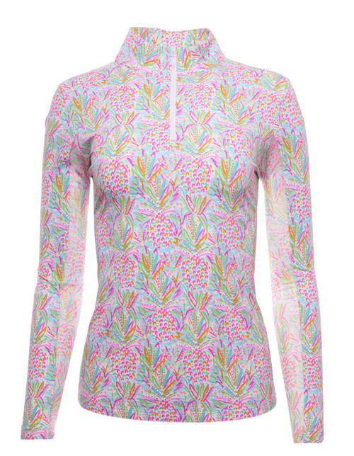IBKUL Golf- Ladies Lola Long Sleeve Mock