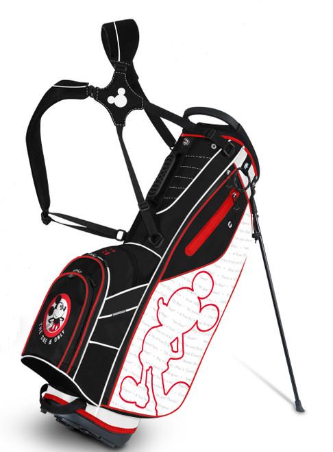 Team Effort Golf- Disney Mickey Mouse GridIron III Stand Bag
