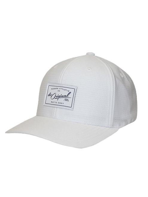 Matte Grey Golf- Vintage Badge Tricot Hat