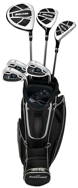 Spalding Golf Spalding Molitor Junior Boys 12 Piece Complete Set With Bag Graphite (Ages 9-12)
