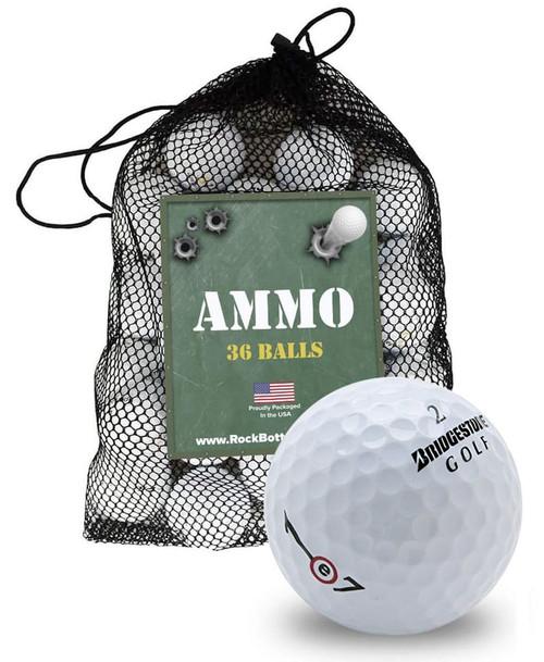 Bridgestone e7/e7+ Recycled Near Mint Golf Balls [36-Ball]