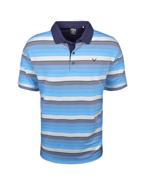 Callaway Golf- Big & Tall Yarn Dyed Gradient Oxford Polo