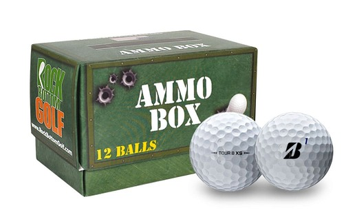 Bridgestone Tour B XS Golf Balls [Ammo Box]