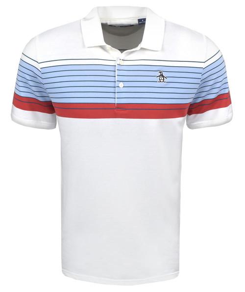 Original Penguin Golf- Y/D Engineered Stripe Polo