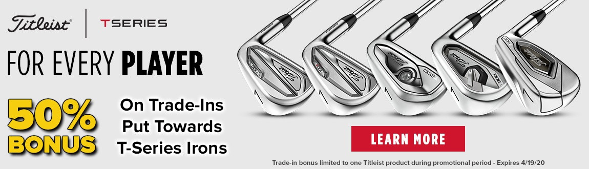 Titleist TSeries T100s and T400 Irons NOW AVAILABLE at Rock Bottom Golf!