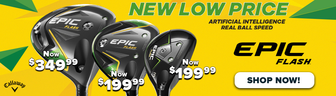 NEW Low Price On Callaway Epic FLASH! Artificial Intelligence. Real Ball Speed. - Shop NOW!