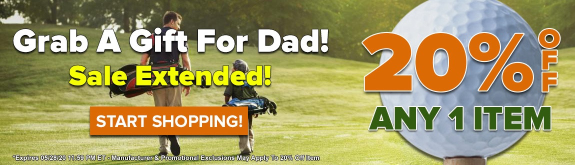 SALE EXTENDED! Grab a Gift for Dad for Father's Day! Today ONLY! 20% OFF ANY Item!