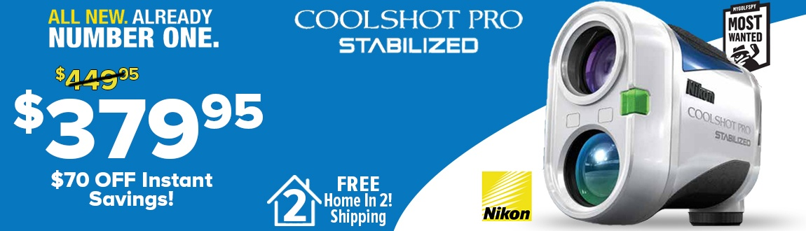 Nikon Coolshot Pro Stabilized $70 Instant Savings! All New. Already Number One. - Shop Now!