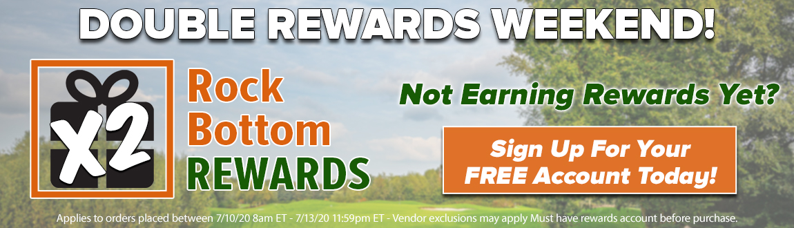 Double Rewards Weekend!