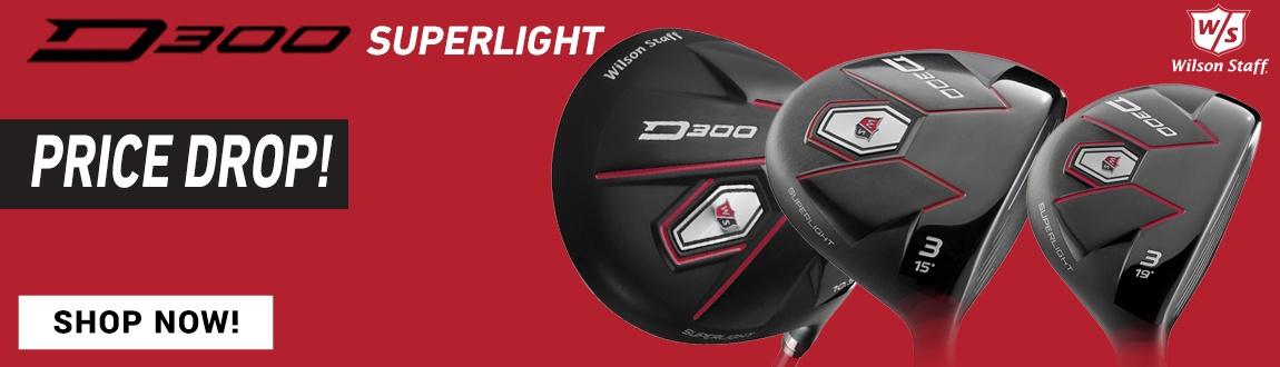 Wilson Staff Golf D300 Superlight Price Drop Alert! Shop Now!