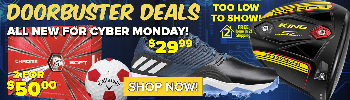 All New DOORBUSTER DEALS For Cyber Monday!
