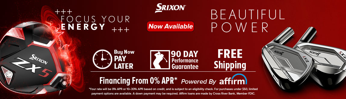 Srixon ZX Clubs Now Available!