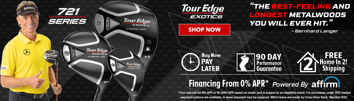 Tour Edge Exotics 721 Series! The Best Feeling And Longest Metalwoods You Will Ever Hit. Shop Now!