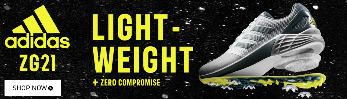 Adidas ZG21 Golf Shoes! Light-Weight + Zero Compromise! Shop Now!
