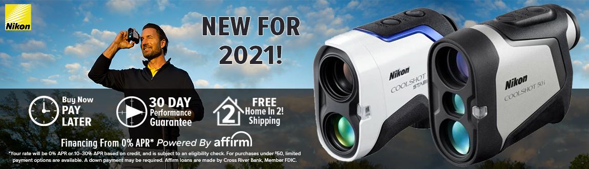 Nikon Golf Coolshot Pro II Stabilized Laser Rangefinder! New For 2021!