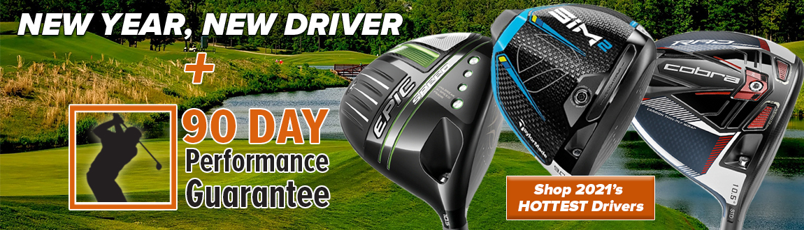 New Year! New Driver! Shop 2021's HOTTEST Golf Drivers!