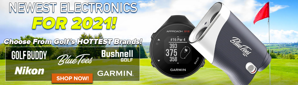 Newest Golf Electronics For 2021! Choose From Golf's HOTTEST Electronics Brands! Shop Now!