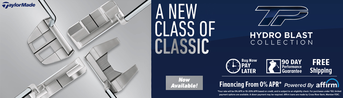 TaylorMade Golf Hydro Blast Putter Collection! Now Available!