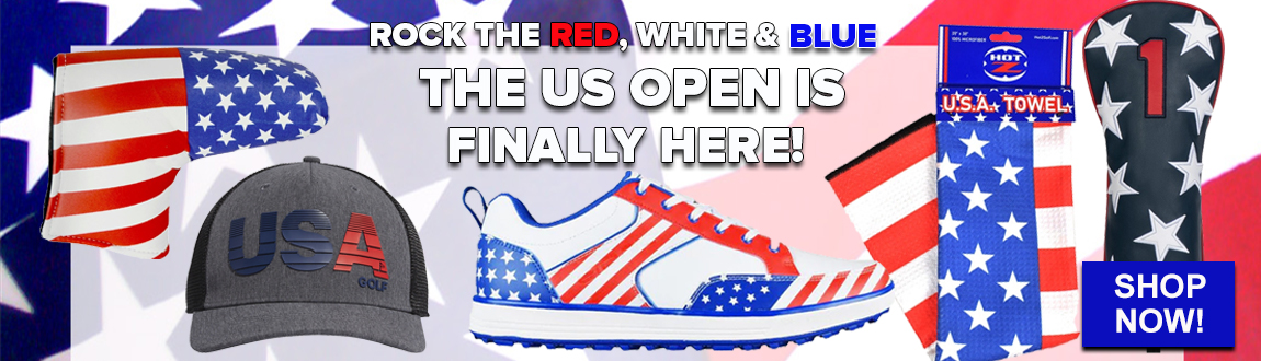 Rock The Red, White, And Blue on The Golf Course! The US Open Is Coming! Shop Now!