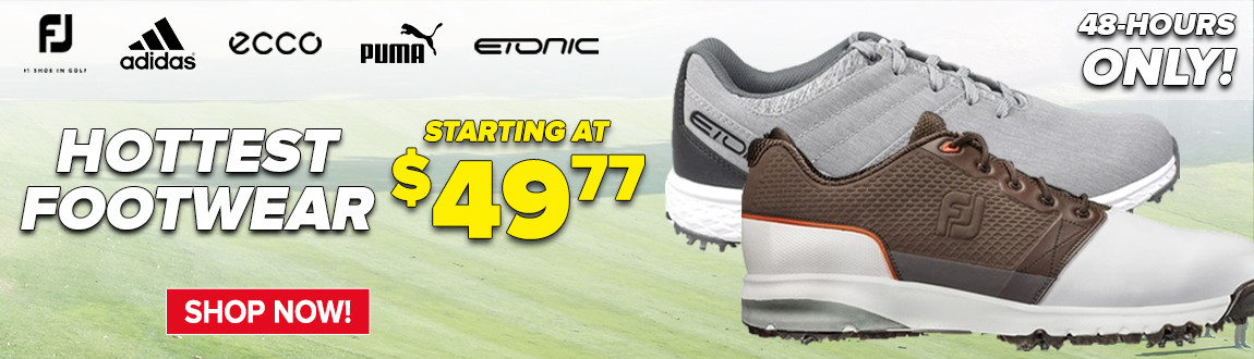 48 Hour FLASH Sale On The Hottest Footwear Starting At $49.77!